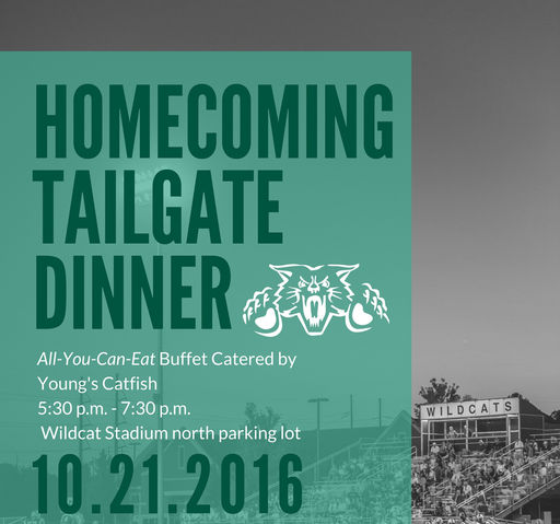 2016 Homecoming Tailgate Dinner