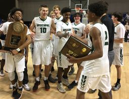 Episcopal Boys Basketball Makes History by Winning 3rd 3A State Championship in Four Years