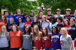 Seniors Celebrate College Choices at Annual Picnic