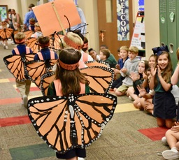 10th Annual Monarch Migration in the Lower School!