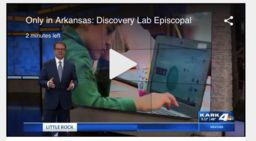 Lower School Discovery Lab Featured on Local News!