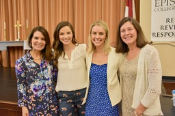Episcopal Welcomes Back Meredith Lee Katzenberg '07