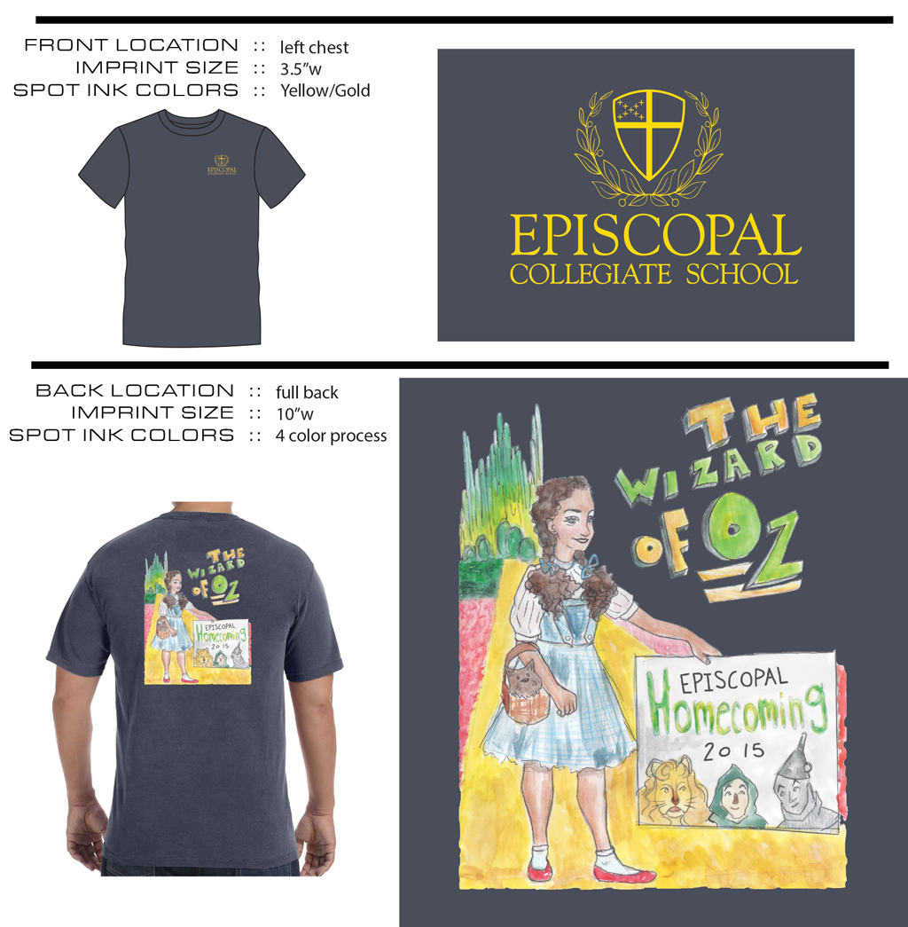 7afb3364 Episcopal Collegiate School's 2015 Basketball Homecoming t-shirts are on  sale now for $15 per shirt. All shirts must be ordered by noon on Tuesday,  ...